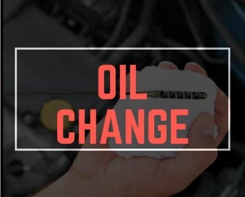 Oil Change Car