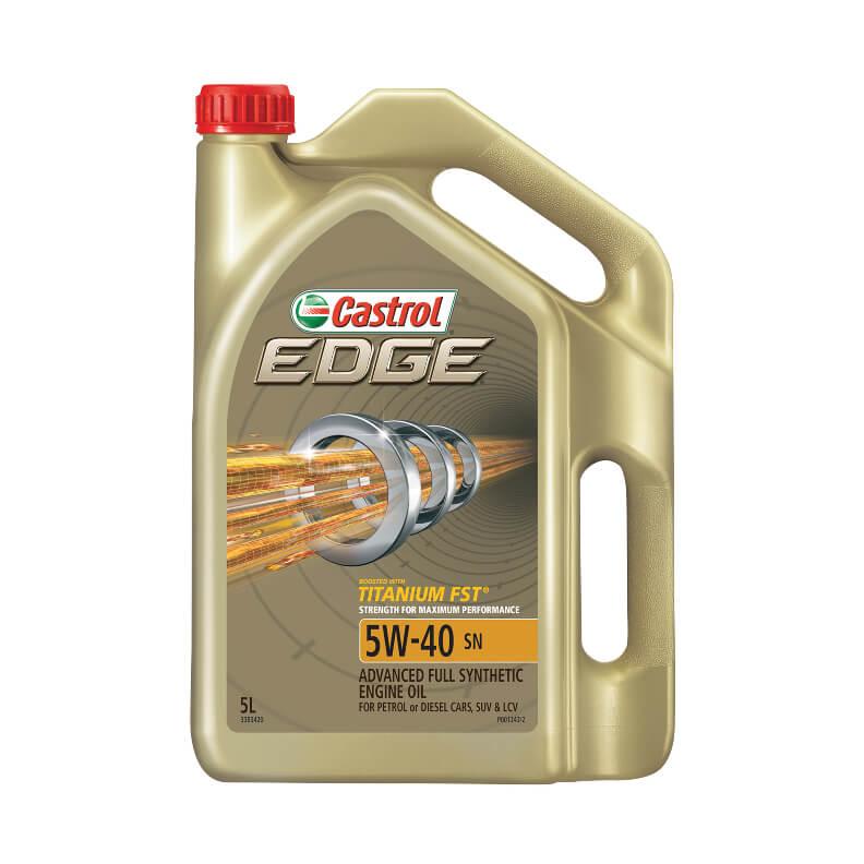 Oil Castrol Edge 5w-40