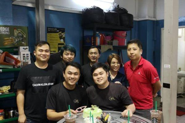Happy Birthday team goldautoworks 2