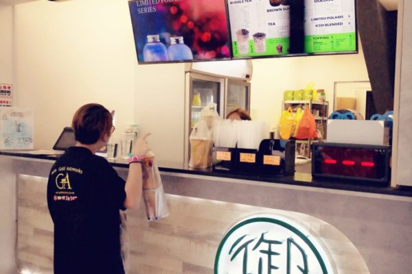 Gold Autoworks buy bubble tea for staff